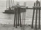 Construction of the promenade pier