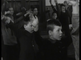 Christmas 1938: youthful singer sing Christmas carol in church